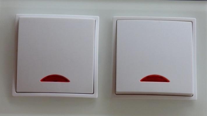 Wei/ß WYANG Tisch Schreibtischlampe Kabel Kabel Lichtschalter mit LED-Kontrollleuchte AC 250V 10A Inline EIN//AUS