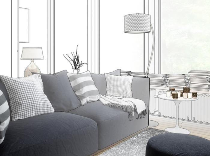 hochglanz wohnw nde und weitere wohnw nde g nstig online. Black Bedroom Furniture Sets. Home Design Ideas