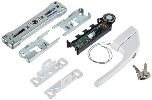 ABUS Fenster-Stangenschloss mit Alarm FOS650A W weiss AL0125 gleichschlie/ßend 77306