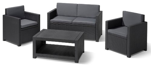 lounge sets von allibert und andere gartenm bel f r garten balkon online kaufen bei m bel. Black Bedroom Furniture Sets. Home Design Ideas