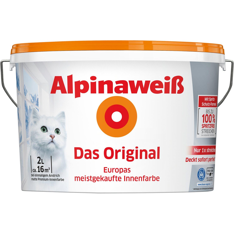 Alpina Feine Farben No 17 Farbe Der Könige: Malern & Tapezieren Und Andere Baumarktartikel Von Alpina