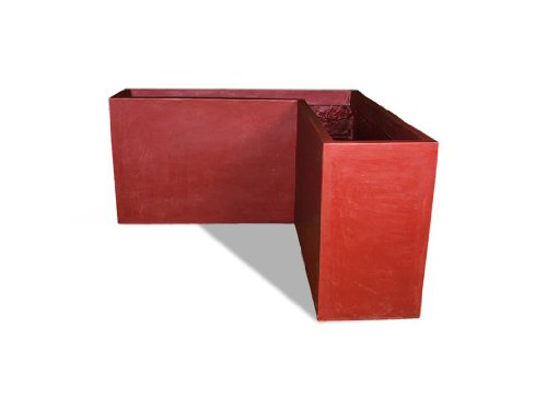 Amedeo Design 2513-95T Corner Modular Planter, 24 by 18 by 15-Inch, Terra Cotta von Amedeo Design
