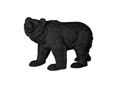 Amedeo Design ResinStone 1400-16B Happy Bear, 91,4 x 30,5 x 61 cm, Schwarz von Amedeo Design