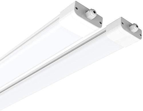 4X 50W LED Hallenleuchte Fluter Hallenstrahler Außen Lampe Wasserdicht