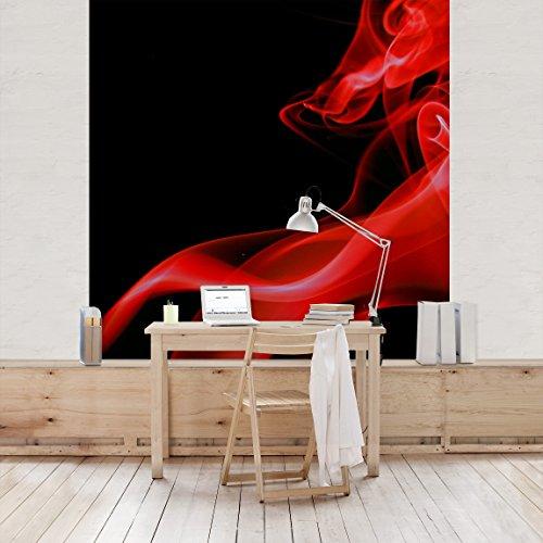 rot vliestapeten und weitere malern tapezieren. Black Bedroom Furniture Sets. Home Design Ideas