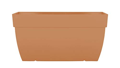 CAPRI XL PLANT BOX 60CM LIGHT TERRACOTTA von Artevasi