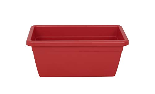 VENEZIA XL PLANT BOX 100CM DARK RED von Artevasi