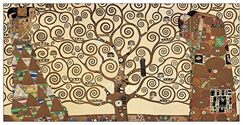 KLIMT - The Tree of Life (Dekorative Paneele) von Artopweb