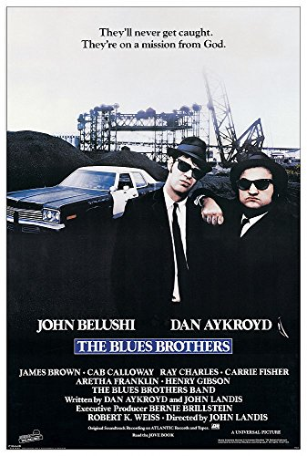 Artopweb EC40115 The Blues Brothers, Holz, Bunt, 60 x 1.8 x 90 cm von Artopweb