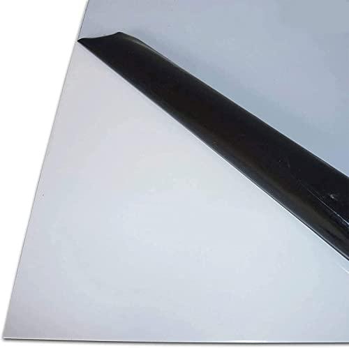 1 mtr. 1000 mm +//- 5 mm B/&T Metall PVC grau Rundstab /Ø 70 mm Au/ßendurchmesser mit Plustoleranz L/änge ca