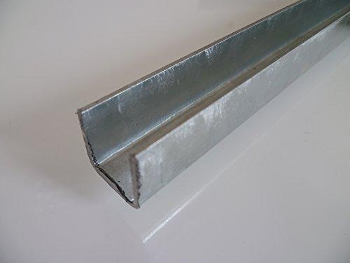 1,5 mtr. S235 1.0038 ST37 B/&T Metall Stahl Winkel VERZINKT 20x20x3 mm in L/ängen /à ca 1500 mm +//- 5 mm
