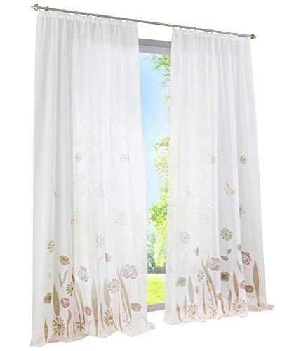 braun transparente gardinen vorh nge und weitere. Black Bedroom Furniture Sets. Home Design Ideas