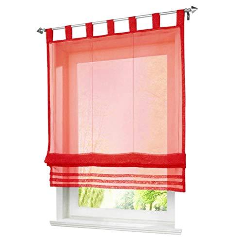 rot transparente gardinen vorh nge und weitere gardinen vorh nge g nstig online kaufen. Black Bedroom Furniture Sets. Home Design Ideas