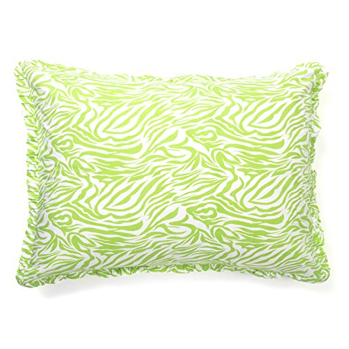 Be-You-tiful Home Green Zebra Lime Standard Sham von Be-You-tiful Home