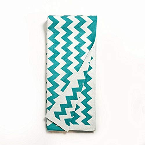 Be-you-tiful Home Chevron Throw, Teal von Be-You-tiful Home