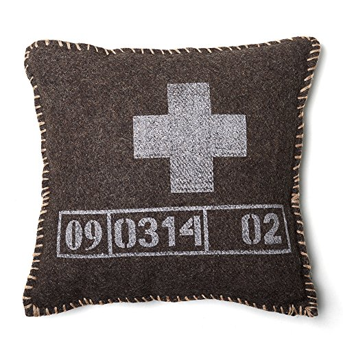 be-you-tiful Home AR674-18 Jäger-Kissen, schwarz von Be-You-tiful Home