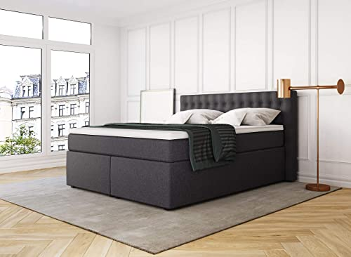boxspringbetten und andere betten von betten jumbo online. Black Bedroom Furniture Sets. Home Design Ideas