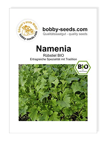 Bobby-Seeds Bio-Salatsamen Rübstiel Namenia Portion von Bobby-Seeds Saatzucht