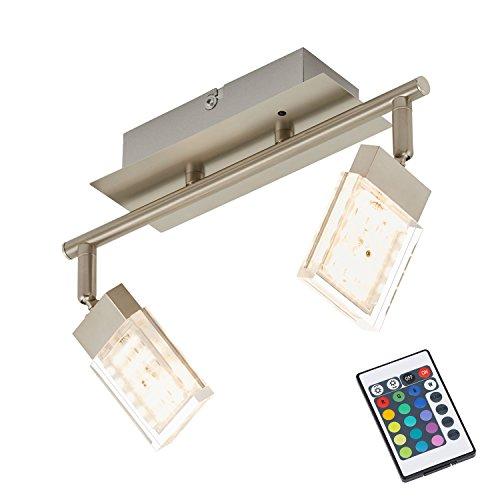 led wohnzimmerlampe:, Deckenleuchte, Deckenlampe, Spots, LED Strahler, Wohnzimmerlampe