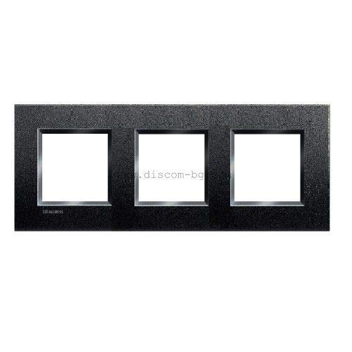 LL-PLACA Air 2 x 3M anthrazit von Bticino