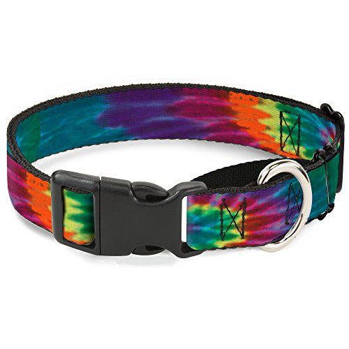 "Buckle-Down Hundehalsband Martingale Bd Tie Dye, 1"" Wide - Fits 9-15"" Neck - Small, Mehrfarbig von Buckle-Down"