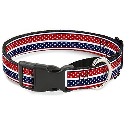 "Buckle-Down MGC-W30196-L Hundehalsband Martingale, 1.5"" Wide - Fits 18-32"" Neck - Large, Mehrfarbig von Buckle-Down"