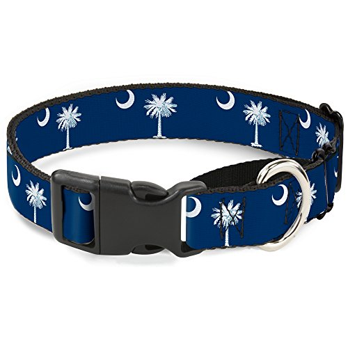 "Buckle-Down Martingale Hundehalsband, South Carolina, 1.5"" Wide - Fits 16-23"" Neck - Medium, Mehrfarbig von Buckle-Down"