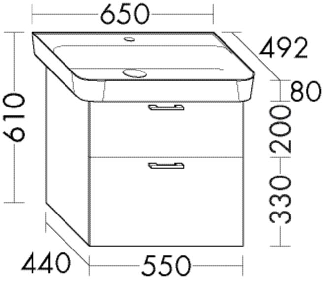 waschtische und weitere tische f r badezimmer online. Black Bedroom Furniture Sets. Home Design Ideas