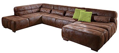 Designersofas und weitere sofas couches g nstig online for Wohnlandschaft lederoptik