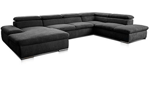 schwarz design wohnlandschaften und weitere designersofas g nstig online kaufen bei m bel. Black Bedroom Furniture Sets. Home Design Ideas
