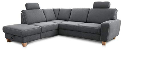 grau schlafsofas mit federkern und weitere schlafsofas. Black Bedroom Furniture Sets. Home Design Ideas