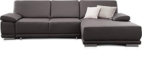 grau ecksofas aus leder und weitere ecksofas g nstig online kaufen bei m bel garten. Black Bedroom Furniture Sets. Home Design Ideas