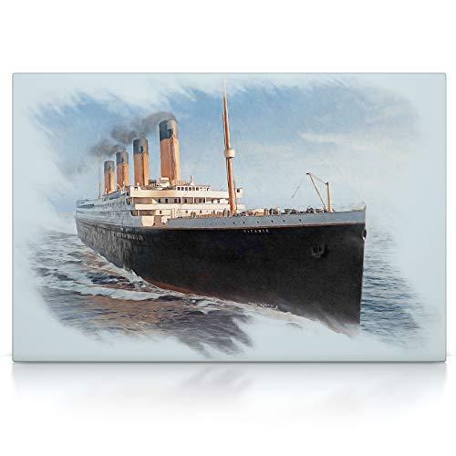 Leinwand Bild auf Keilrahmen Wandbild Leinwandbild 60 x 40 cm, Leinwand auf Keilrahmen CanvasArts Bugatti Chiron