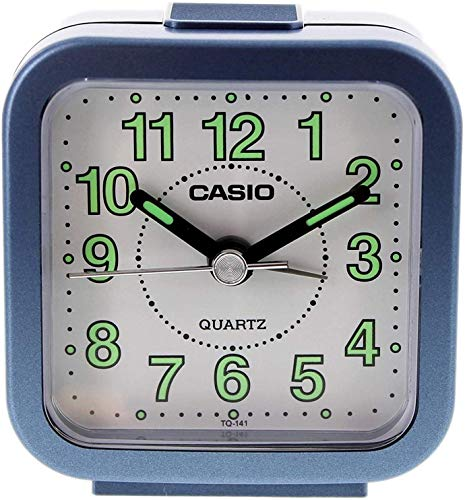 CASIO Wecker Analog Quarz blau TQ141/2 von Casio