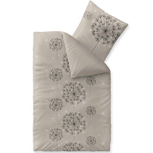 ... Bettbezug Reißverschluss Atmungsaktiv Bett Garnitur 80x80 Kissen Bezug  CelinaTex 0003314 Fashion Florence Grau Schwarz Natur Beige Anthrazit Weiß