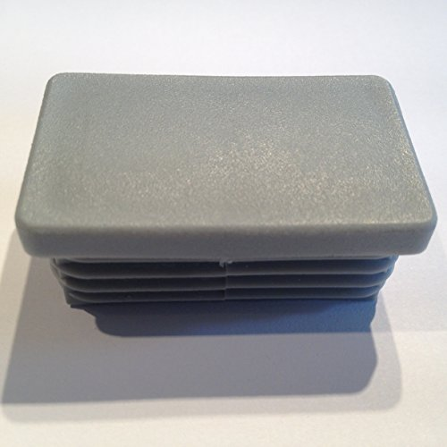 WS 0,8 bis 2,5 mm Rundrohrstopfen 100 Lamellenstopfen Grau Ø aussen 20 mm