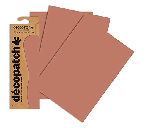 Decopatch Papier No. 697 (kupfer, 395 x 298 mm) 3er Pack von Clairefontaine