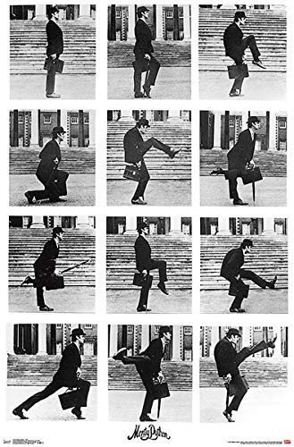 Close Up Monty Python Silly Walks Poster (55,5cm x 86,5cm) + Ü-Poster von Close Up