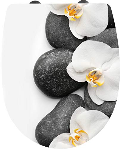 Badaccessoires und andere wohnaccessoires von cornat for Wc deckel orchidee
