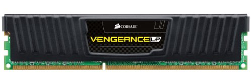 Corsair CML4GX3M1A1600C9 Vengeance Low Profile 4GB (1x4GB) DDR3 1600 Mhz CL9 XMP Performance Desktop Memory Schwarz von Corsair