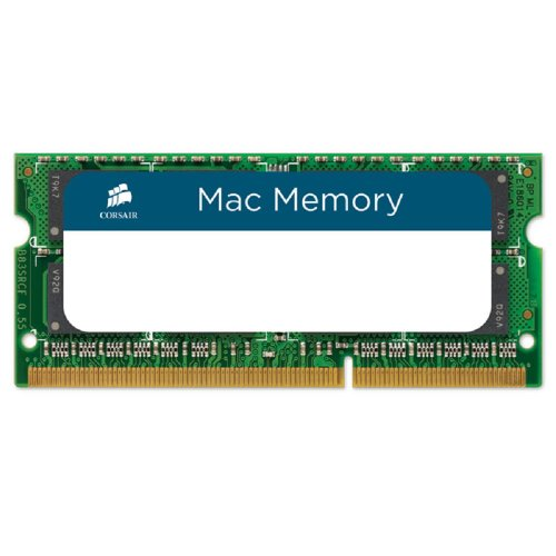 Corsair CMSA8GX3M1A1333C9 Apple Mac 8GB (1x8GB) DDR3 1333Mhz CL9 Apple Zertifiziert Memory von Corsair