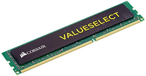 Corsair CMV8GX3M1A1600C11 Value Select 8GB (1x8GB) DDR3 1600 Mhz CL11 Standard Desktop Memory von Corsair