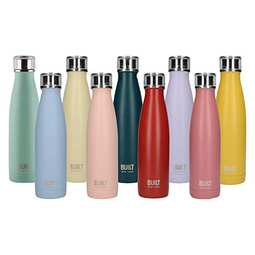 Creative Tops 5193232 BUILT Perfect Seal Vaccum Insulated Bottle 17 oz (Mint), edelstahl, 480 ml (17 fl oz) von CREATIVE TOPS