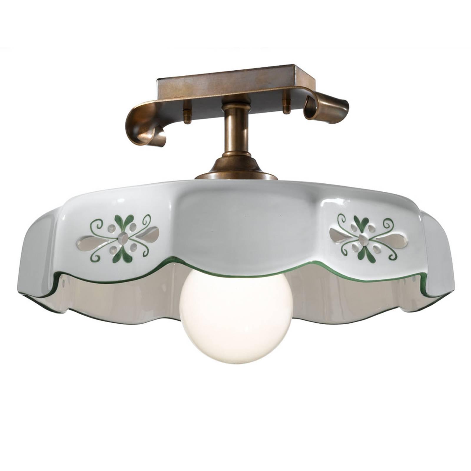Lampen Landhausstil Keramik Leuchte Im Kaufen Gebraucht: Lampen Von Cremasco. Günstig Online Kaufen Bei Möbel & Garten