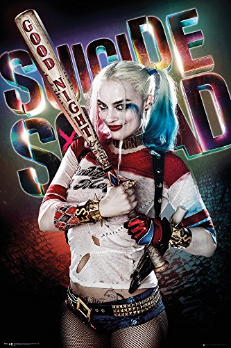 Poster Suicide Squad - Harley Quinn - Good Night - 61 x 91.5 cm | PostersDE von DC Universe