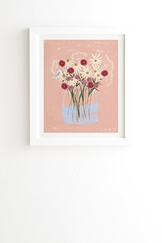 "DENY Designs Joy Laforme A Gift for My Love Framed Wall Art, 14"" x 16.5"" von DENY Designs"