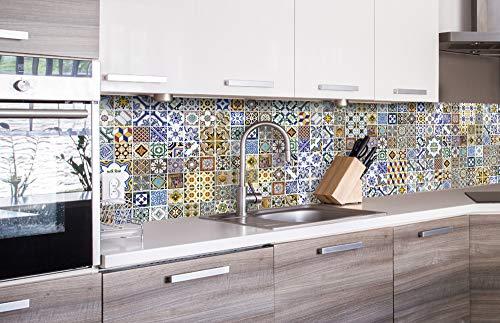 Küchenrückwand Folie selbstklebend LÖWENZAHNSAMEN 260 x 60 cmKlebefolie