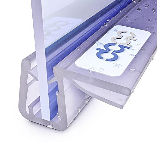 DQ-PP 190cm UK12-05 Ersatzdichtung f/ür 4,8-5mm Glasdicke Wasserabweiser Duschdichtung Schwallschutz Duschkabine Duschprofil