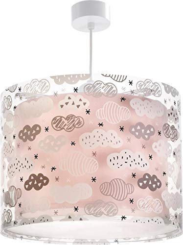 Dalber DECOLINE H/ängelampe pink Plastik 30.5 x 30.5 x 25 cm