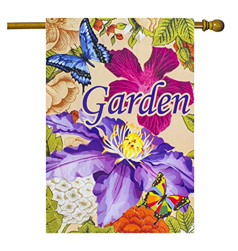 Darice Butterfly and Flower Outdoor Garden Flag von Darice